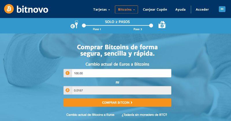 Comprar bitcoins en internet