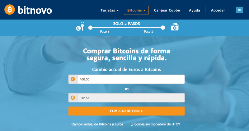 Comprar bitcoins en internet