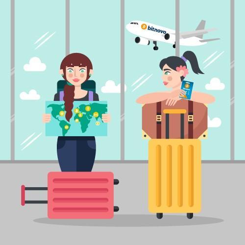 Comprar bitcoins en aeropuerto