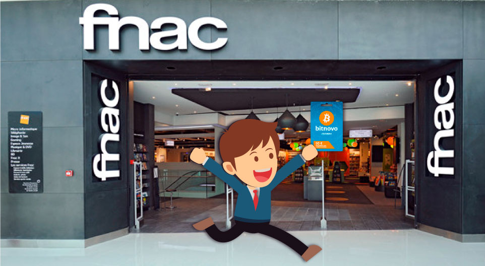 Bitnovo Voucher in Fnac