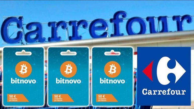 Bitcoin gift card carrefour by Bitnovo