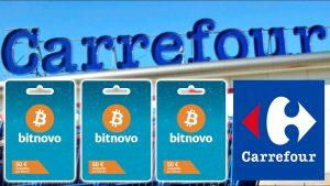 Bitcoin gift card carrefour de Bitnovo