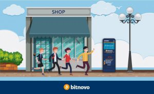 Comprar bitcoins en cajero de Bitnovo