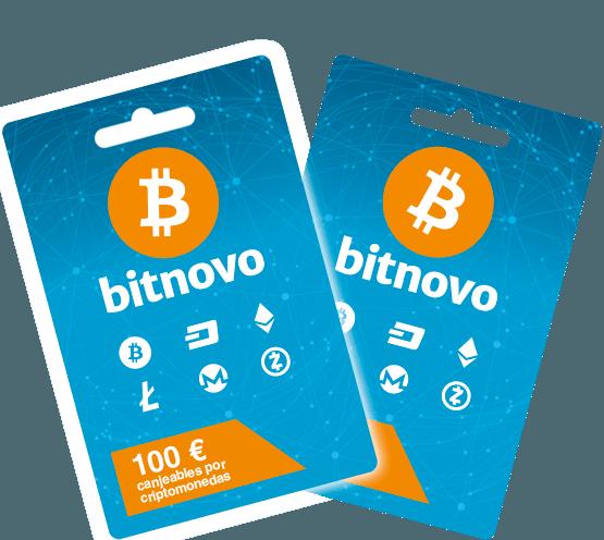 Cupones bitcoins de Bitnovo