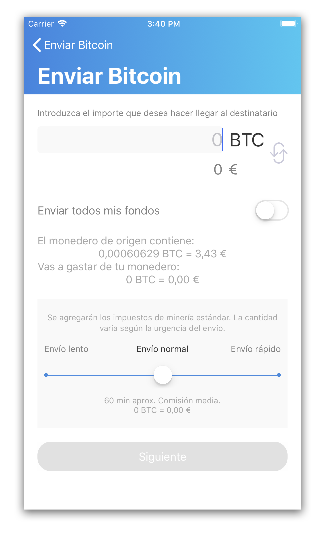 Cómo enviar bitcoins wallet bitnovo