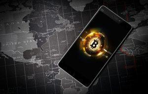Smartphone para comprar con bitcoin