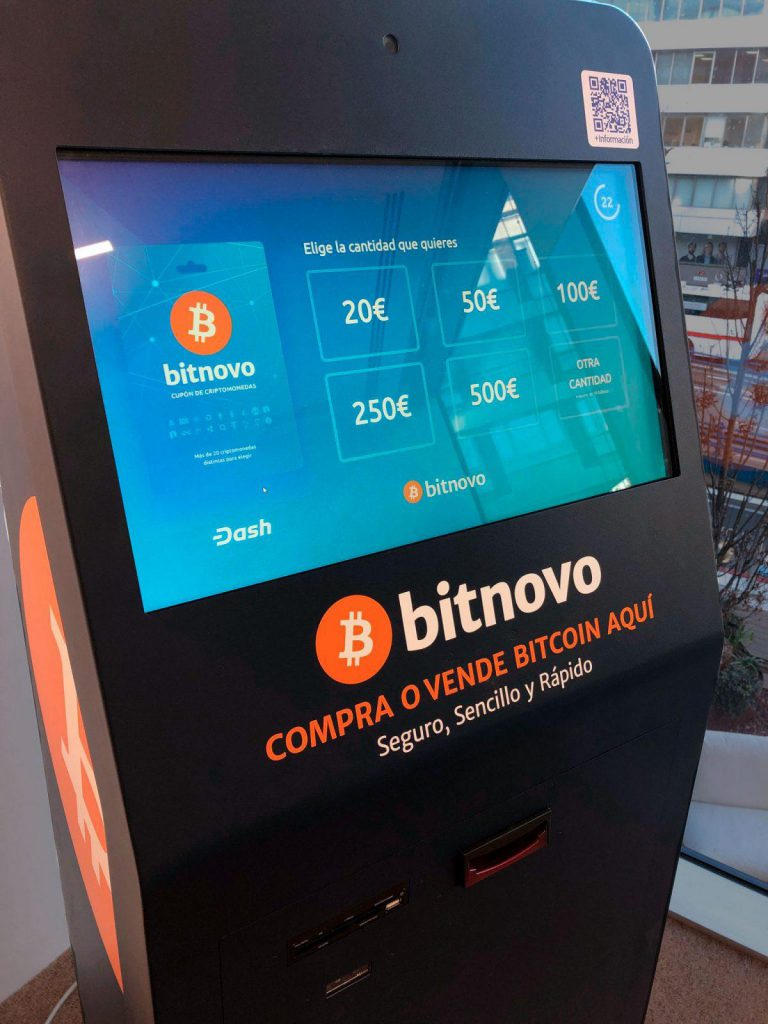 Bitnovo cryptocurrencies ATM in Fintech Plaza