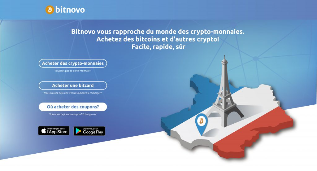 Las criptomonedas llegan a Francia con Bitnovo