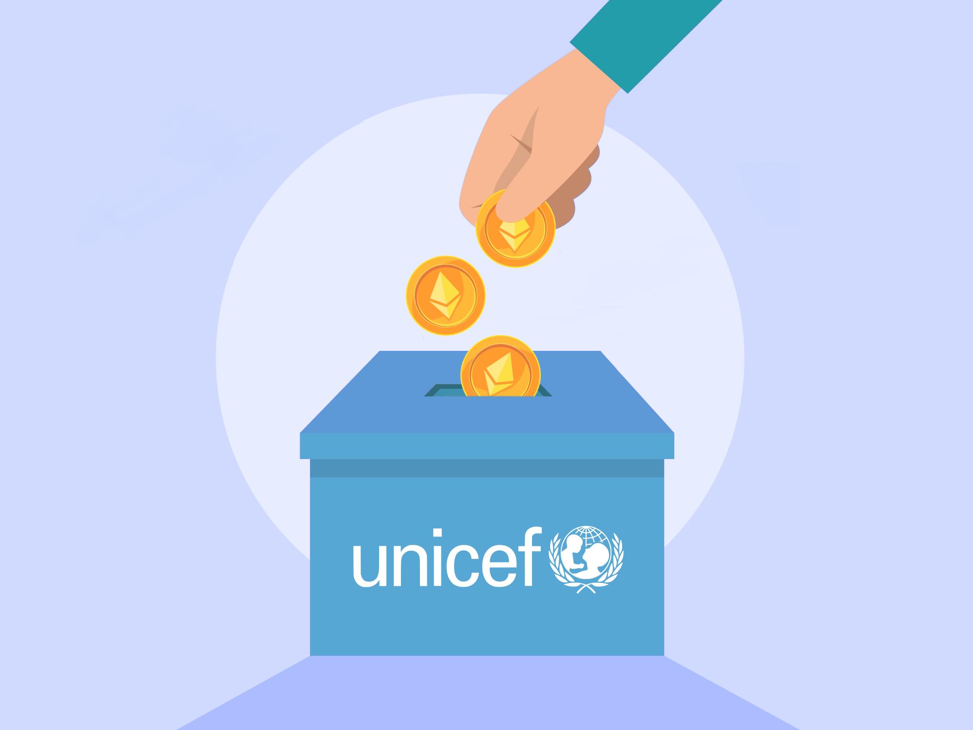 ONU Fondo criptomonedas UNICEF