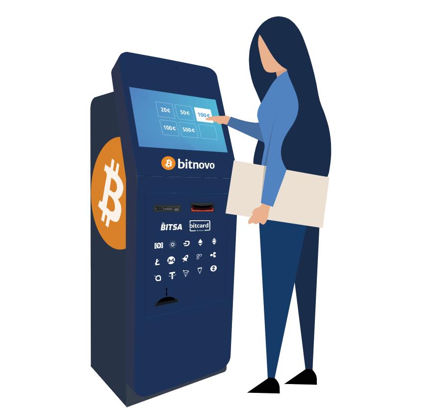 cajeros compra de bitcoins para Bitnovo