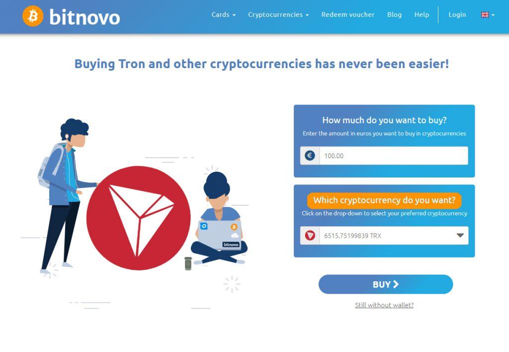 Buy TRX Online