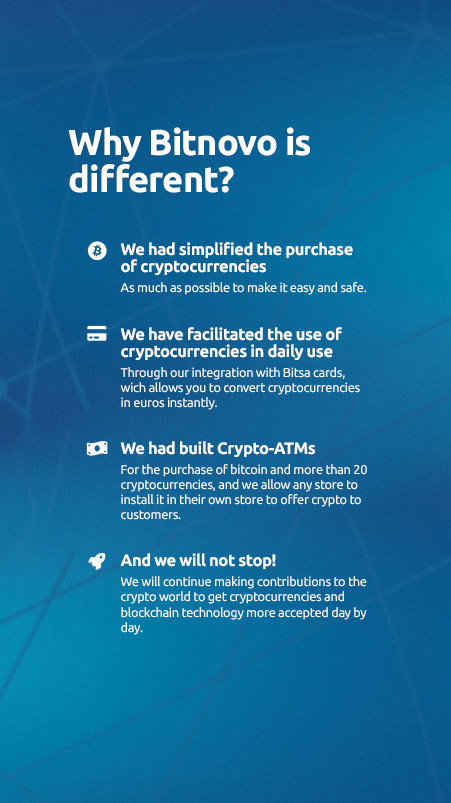 faqs bitnovo different exchange