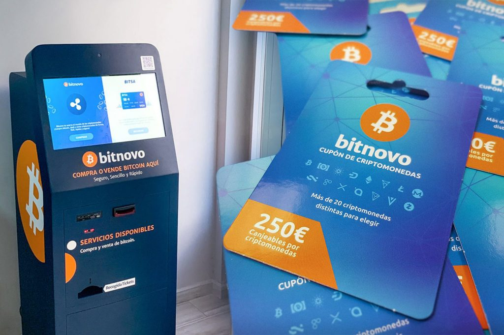 Bitcoin ATM Crypto Voucher