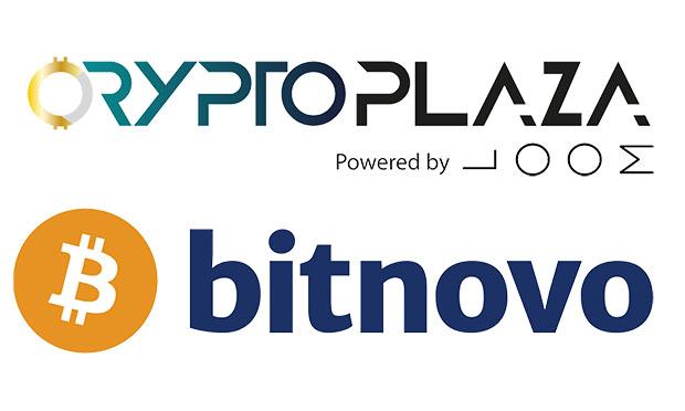 Crypto plaza y bitnovo impulsando el sector de las criptomonedas