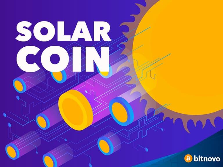 SLR que es solarcoin criptomoneda ecologica Bitnovo