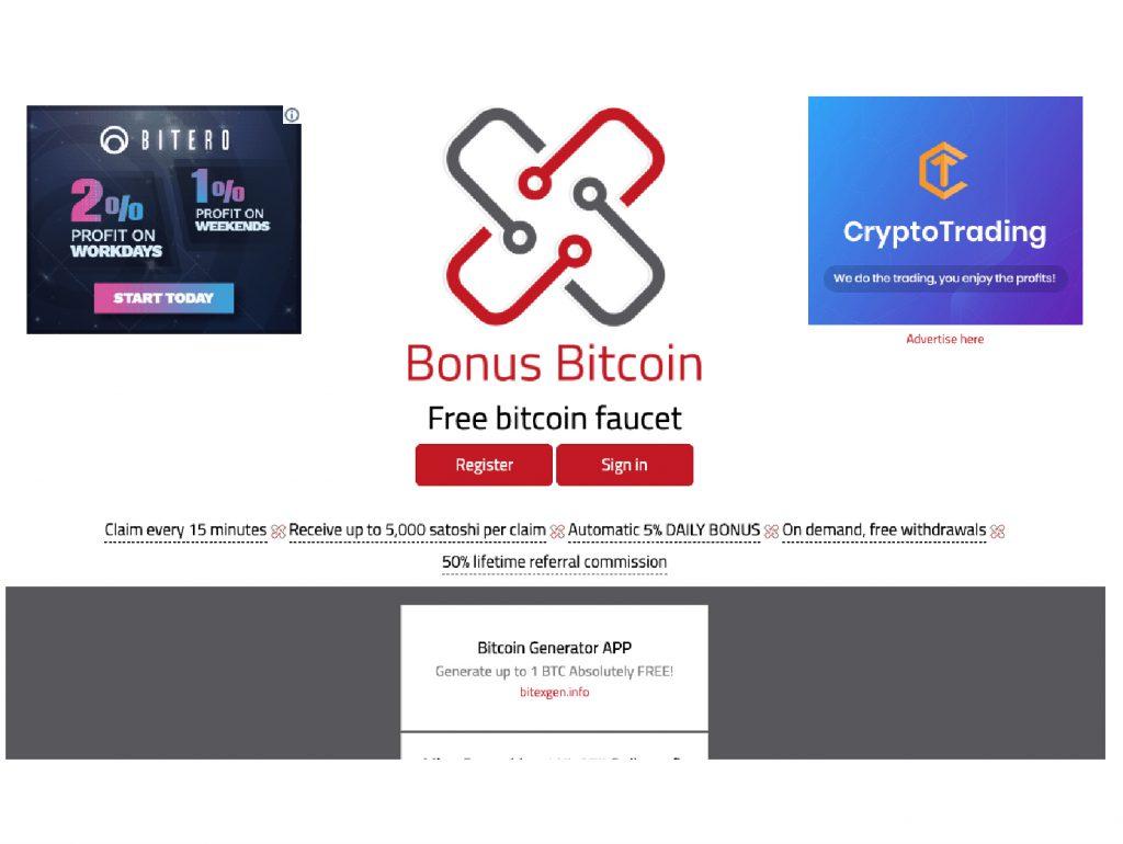 Bitcoin Bonus Bitnovo