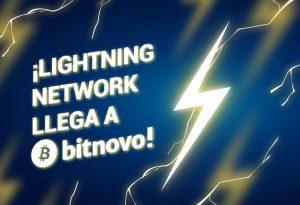 lightning network llega a bitnovo Bitnovo