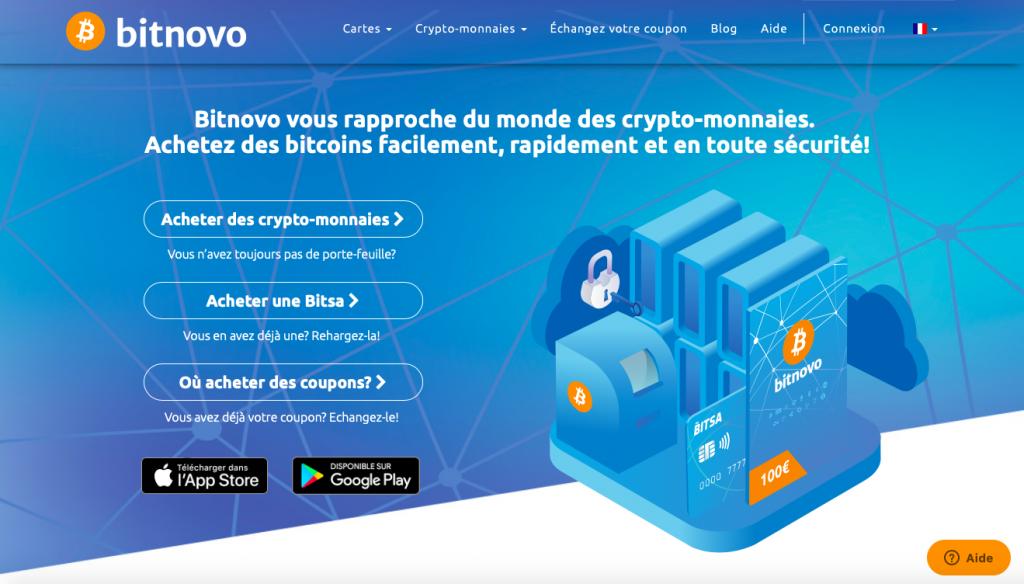 Acheter des crypto monnaies Bitnovo