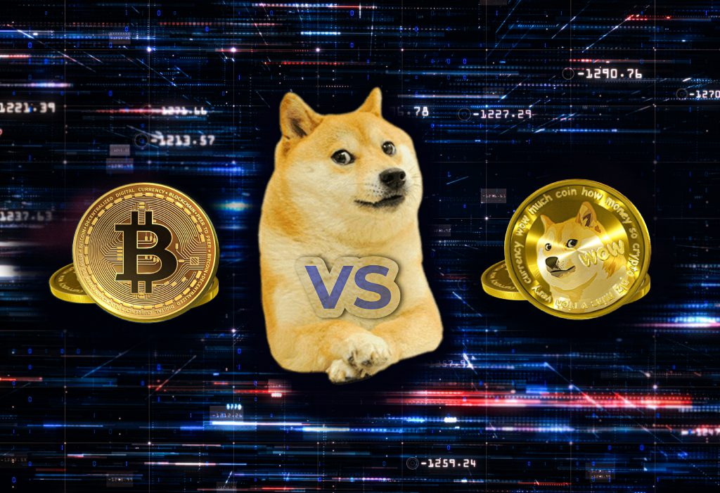 dogecoin vs bitcoin Bitnovo