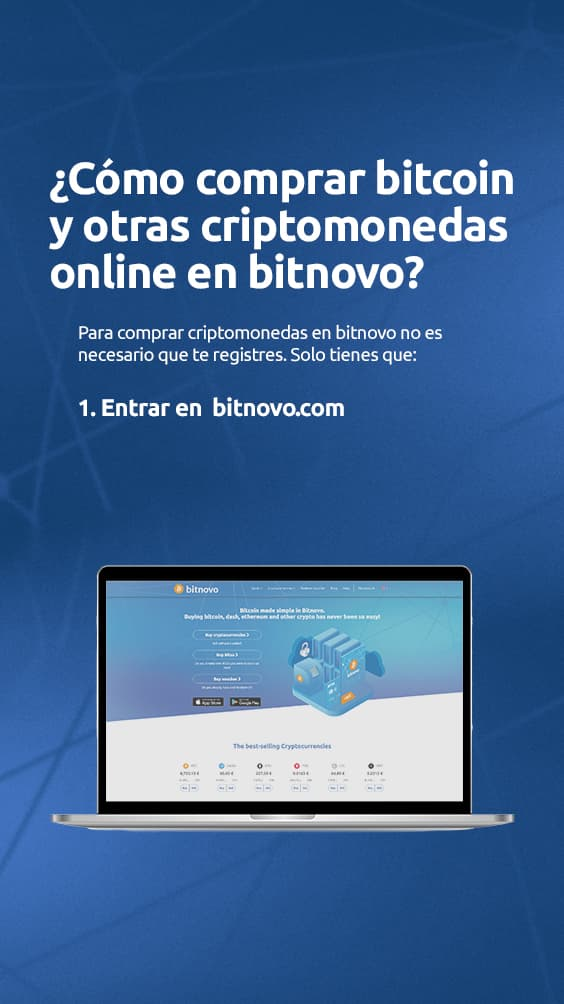Como comprar bitcoin y otras criptomonedas online en Bitnovo