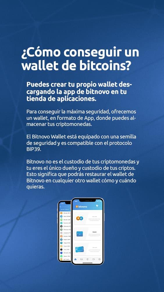 Como conseguir unas wallet de bitcoins Bitnovo