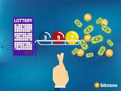 Lottery crypto DAI money Bitnovo