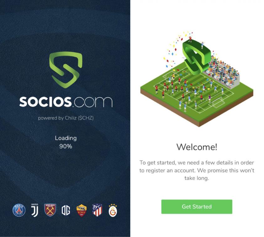 Registro socioscom futbol tokens Bitnovo