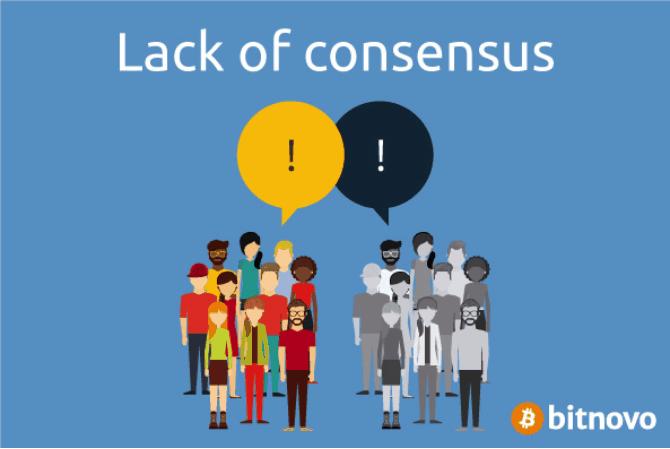 lack of consensus bitcoin Bitnovo