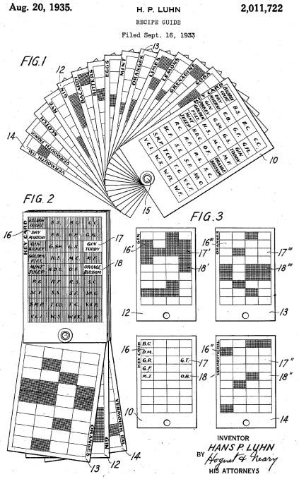 El algoritmo de Luhn -patente